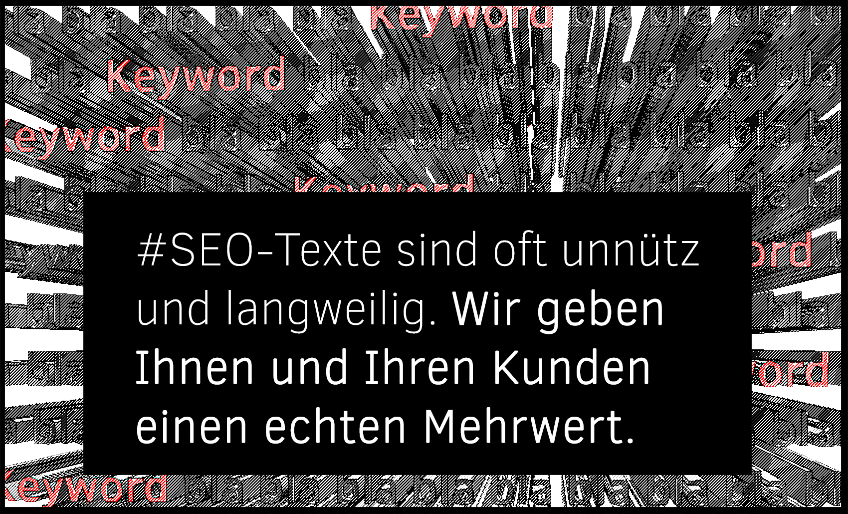 Content Marketing sollte spannend sein