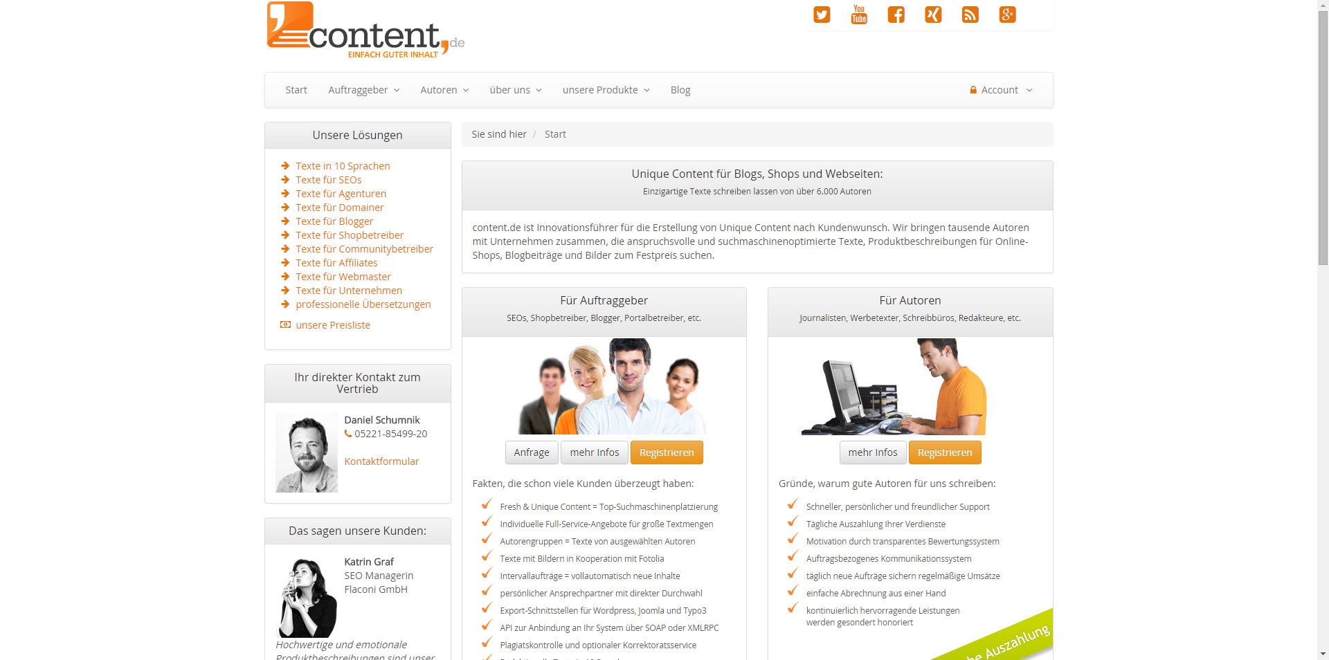 marketingatyourservice - Partner - content.de