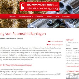 Hannover Marketing Referenzen Gebaeudereinigung